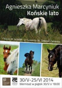 plakat-końskie lato